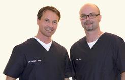 Dr. Nils Leege und Klaus Vöge